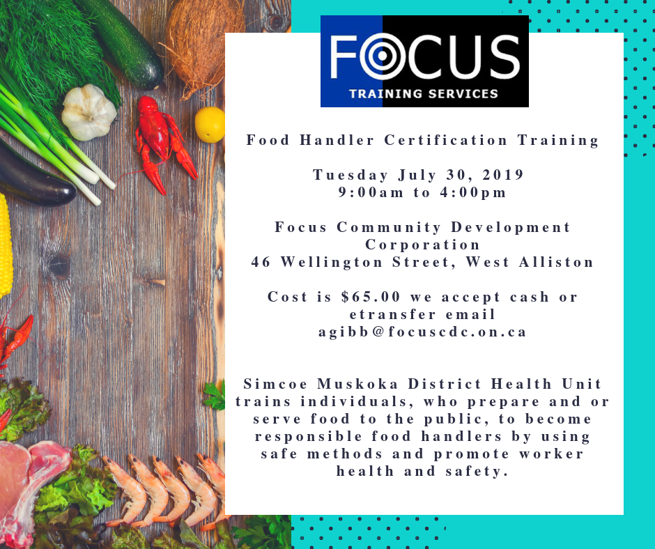 Food handling course