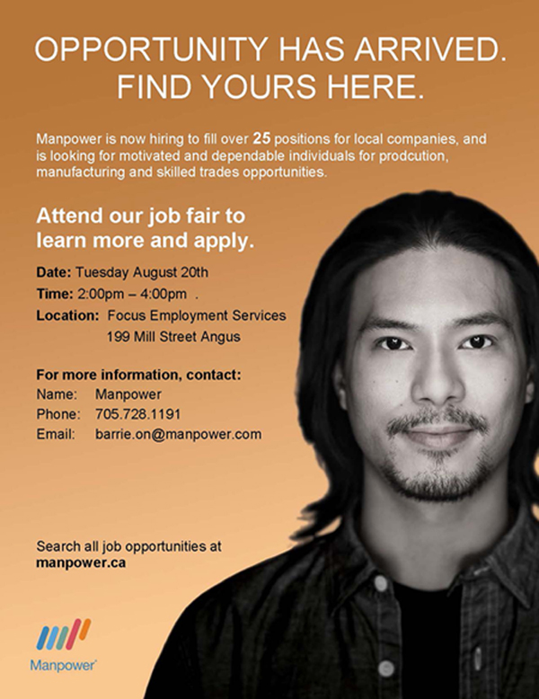 Manpower Job Fair Angus