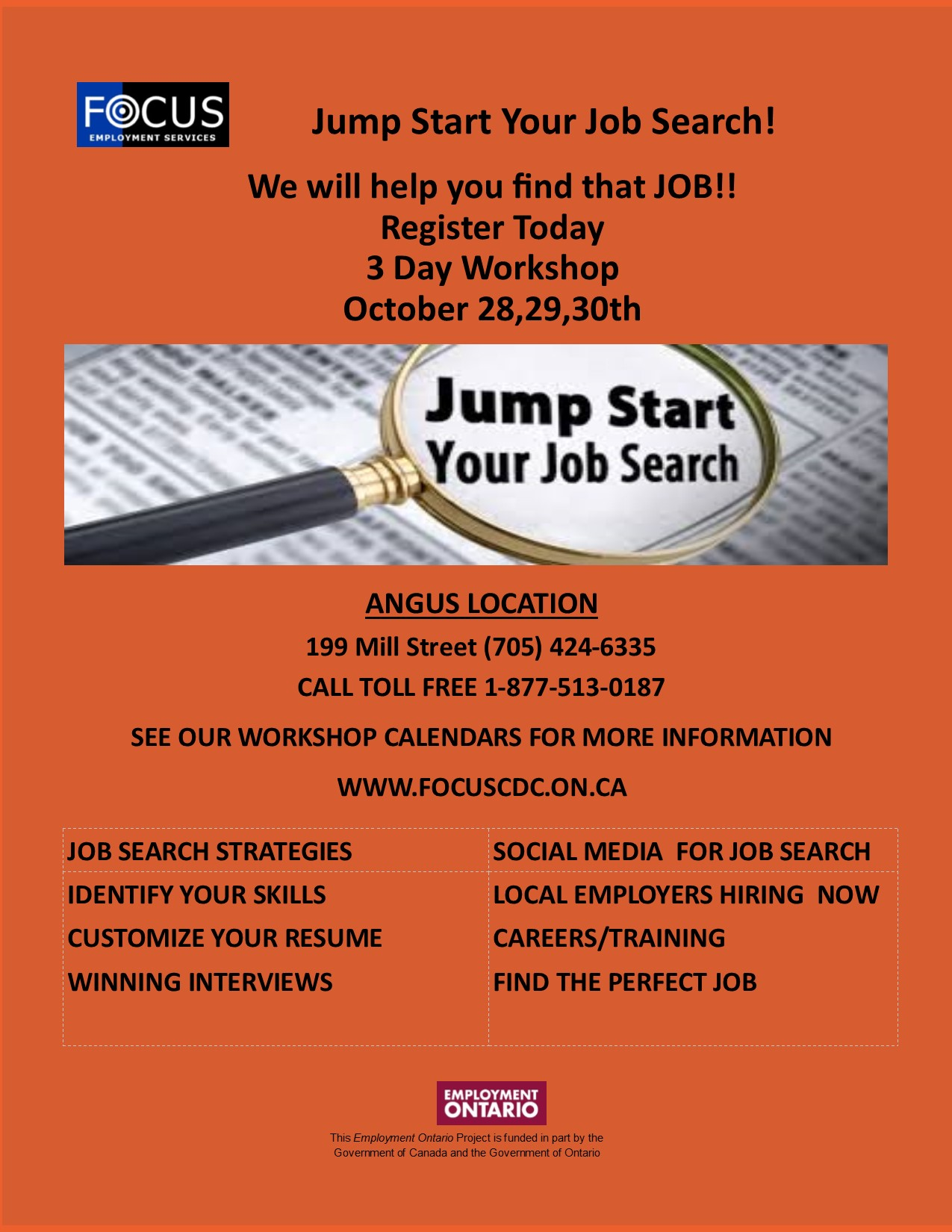 Jump Start Your Job Search -